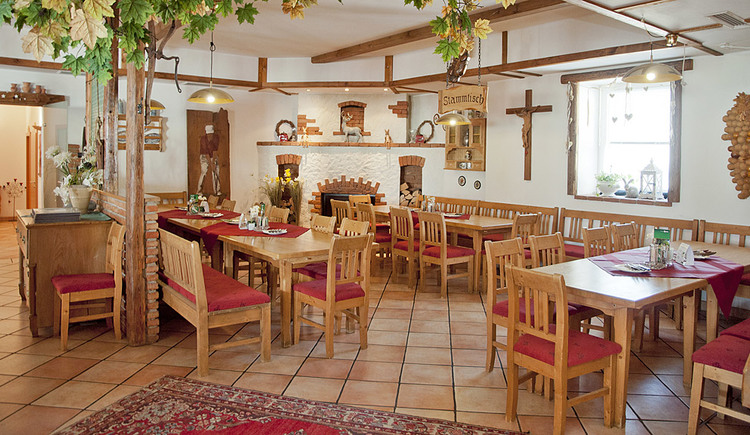 Gaststube im Restaurant Metzenhof