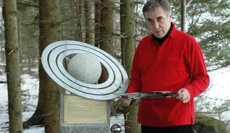 Der Planet Saturn (© Tourismuskern Freistadt)