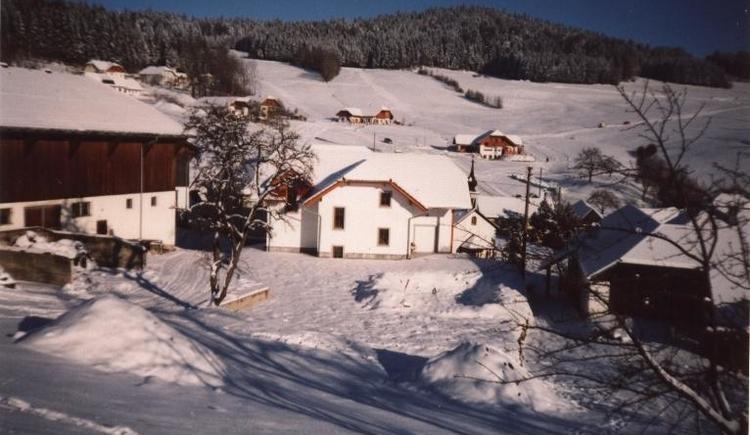 Hausansicht im Winter (© Privat)