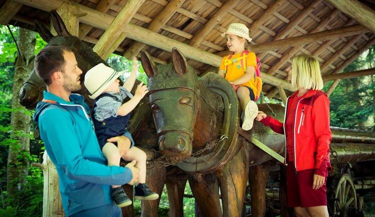 Moorwald-Pferdegespann (© Vortuna Gesundheitsresort Bad Leonfelden)
