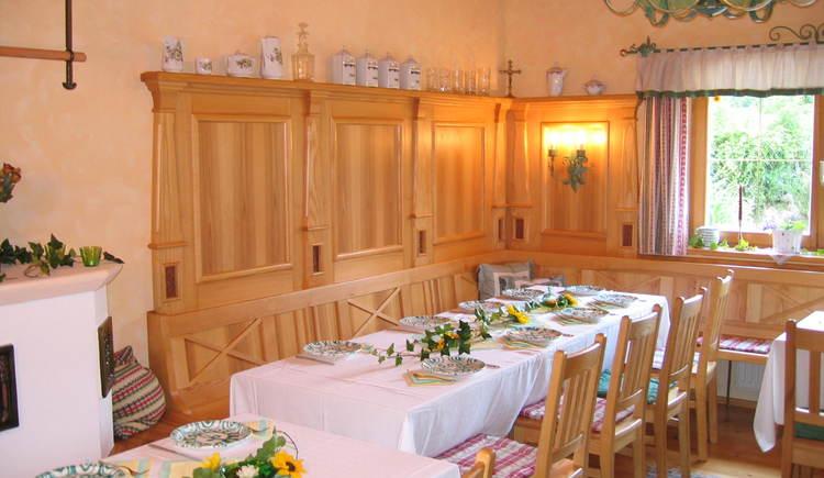 Gästehaus Annerl: Frühstücksraum/Esszimmer.