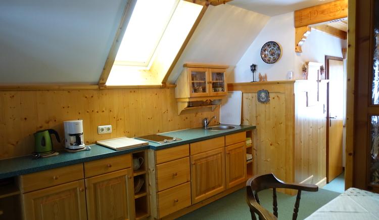 Küche im 2. Stock. (© Ebner)