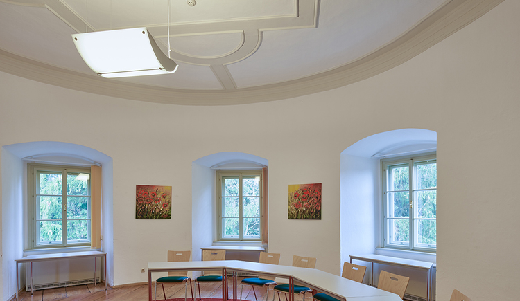 Schloss Weinberg, Seminarraum Turm