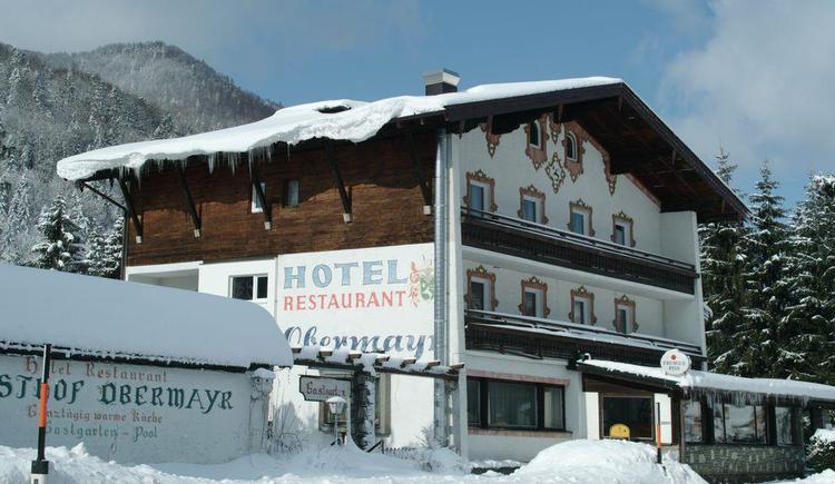 Hotel Obermayr Ansicht Winter2