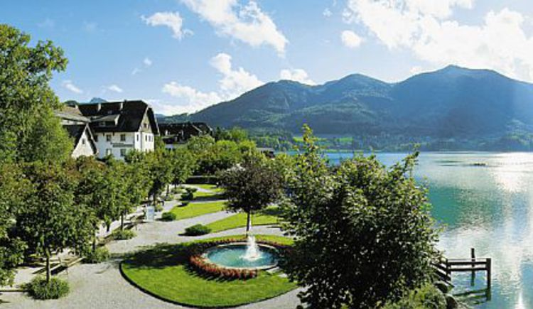 Hotel Schlick by the lake (© Seehotel Schlick)