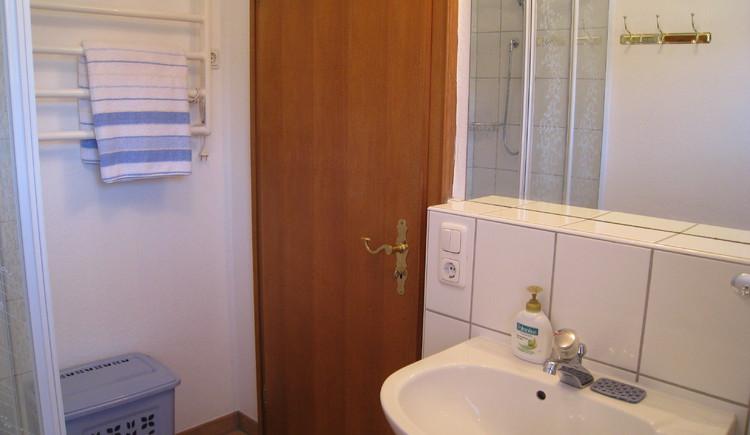 Badezimmer und WC. (© Familie Seitz)