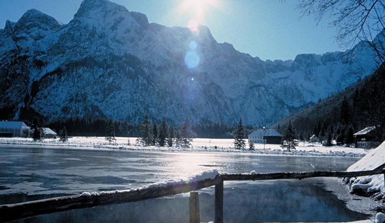 Almsee - Winter (© Karl Redtenbacher)