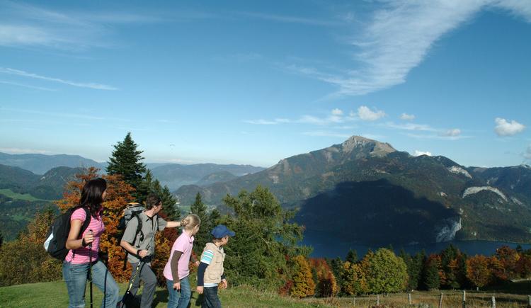 Aufstieg zum Zwölferhorn (© Tourismusverband Faistenau / Friedrich Ristits)