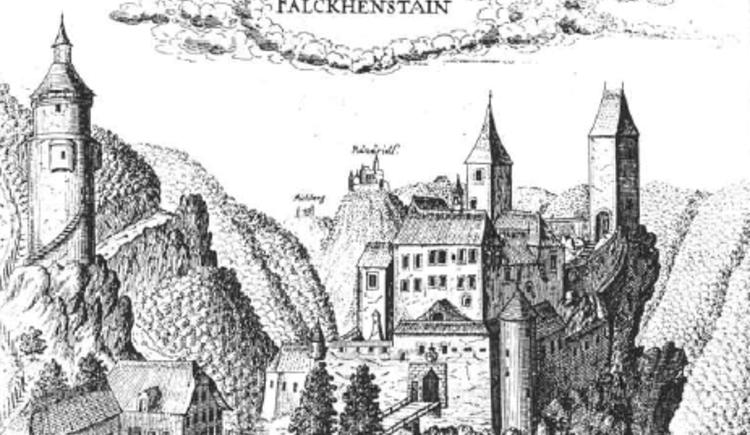 Burgruine Falkenstein (© Salburg)