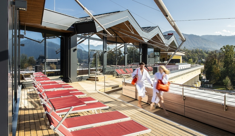 SkyLounge Hotel Royal****S Panorama-Terrasse (© EurothermenResorts)