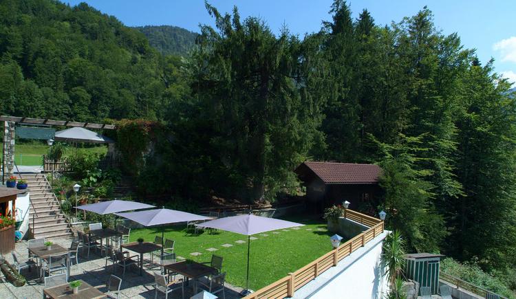 Gast Garten. (© Hotel Obermayr)