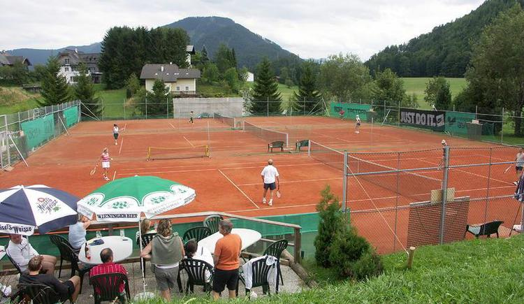 The 3 most wonderful tennis courts in Faistenau