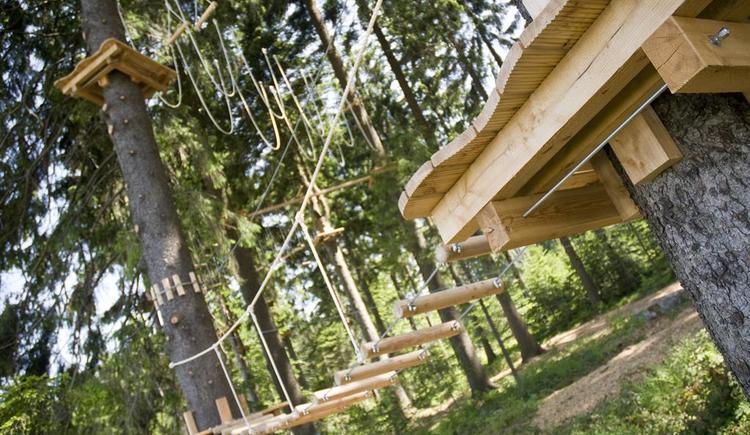 Hochseilpark Böhmerwald (© TVB Böhmerwald)
