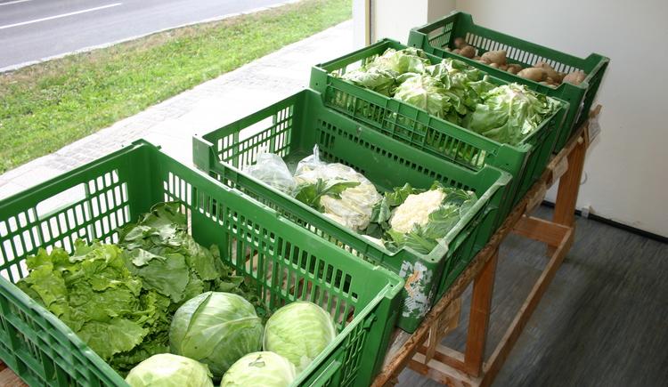 frisches Gemüse vom Bauerneck