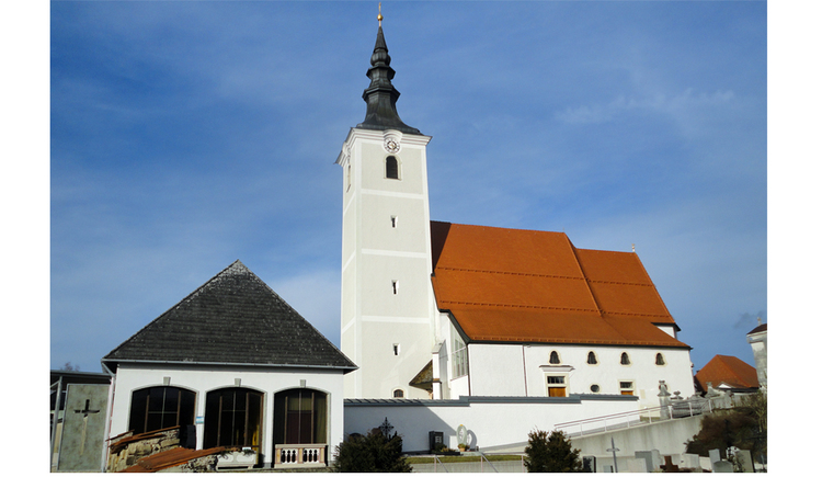 Pfarrkirche Seewalchen (© Gabriela Hilz)