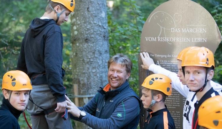 Hochseilgarten Gleinkersee (© pyhrnPriel-erlebnisagentur GmbH)