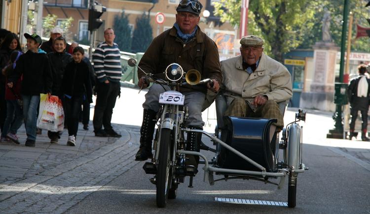 FranzJosefs-Fahrt für Motorräder bis BJ 1929. (© www.badischl.at)