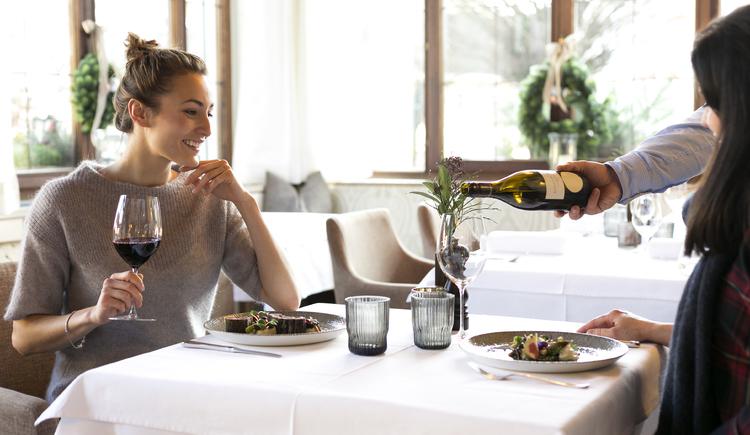 Bild zeigt Innebereich Restaurant \