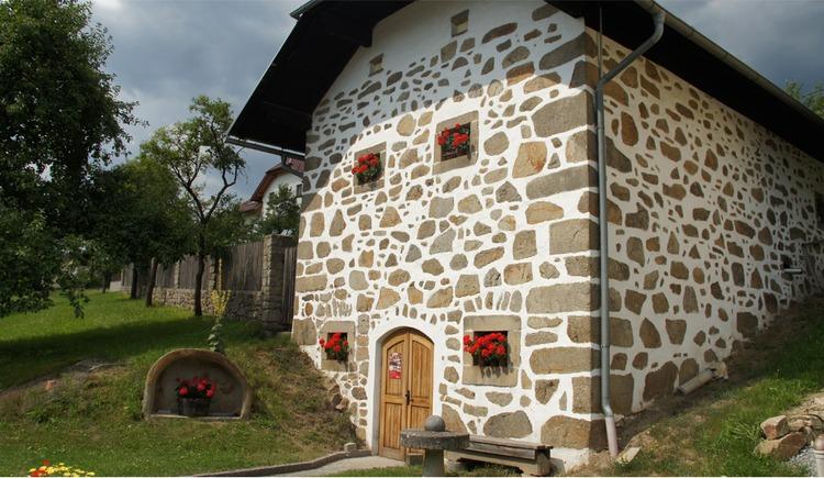 Mostmuseum Trosselsdorf mit Steinbloß-Mauerwerk (© Tourismusverband Mühlviertler Kernland)