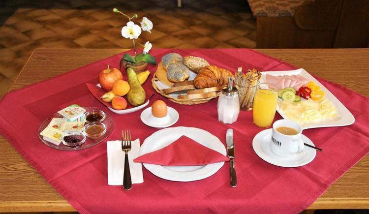 Hotel Sportgasthof Wahlmüller Sattledt Frühstück (© Tourismusregion Wels)
