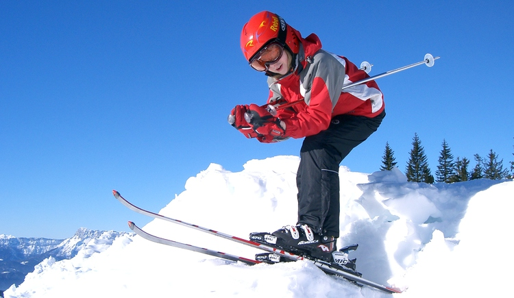 Skifahren lernen - Skischule Sport Franky (© Sport Franky - Hintersee)