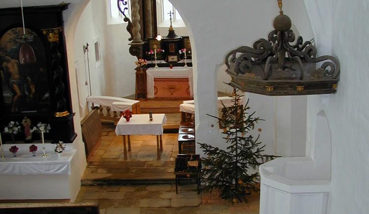 Kirche Altenburg innen