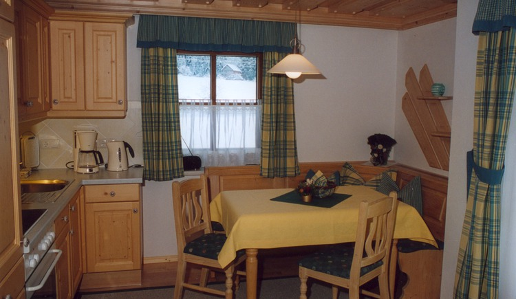 The kitchen on the second upper floor