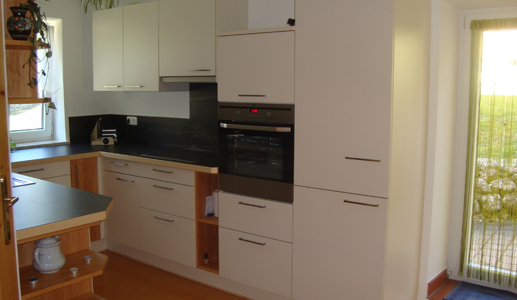 Feel at home in the fully equipped modern kitchen