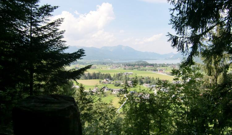 Galbachsteig - Aussicht über die Region Wolfgangsee