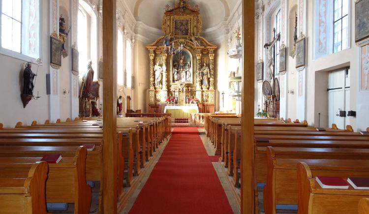 Schlosskirche Altenhof (© Salburg)