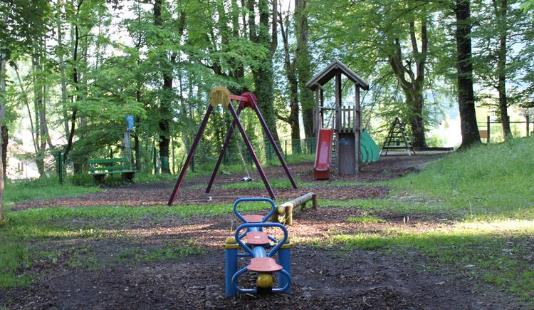 Spielplatz Areal Bauerpark (© Tourimusverband Bad Ischl)