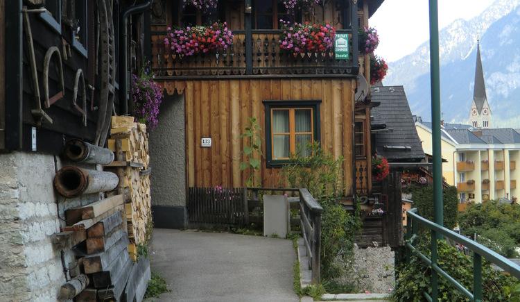 Ferienwohnung Höll Johann in Hallstatt am Oberen Weg mit Blick zum Hallstättersee in der Welterberegion Dachstein Salzkammergut
