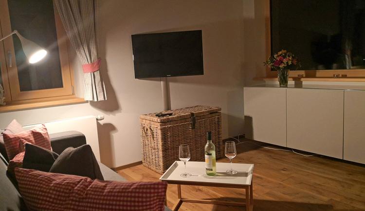 Wohnung Edelweiss - Wohnen /mit Schlafsofa (© dasGams)