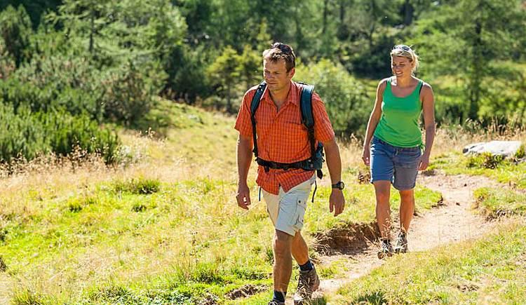 Wandern in Oberoesterreich (© OÖ Tourismus Hochhauser)
