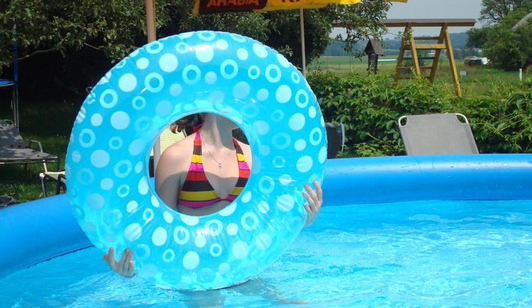 Spaß am Pool, Ferienwohnung Hemetsberger (© eigene Bilder)