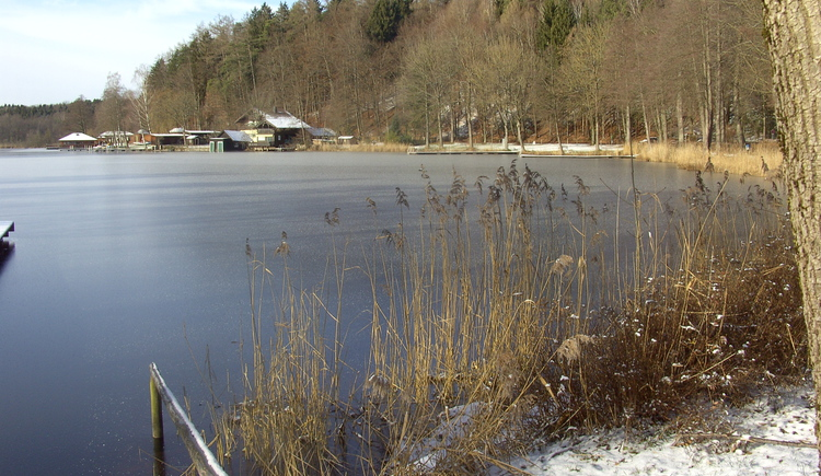 Holzoestersee Winter
