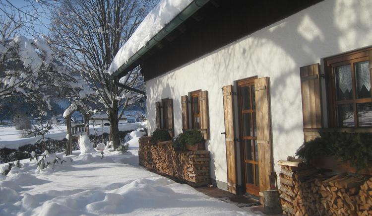 Winter im Landhaus Leitner. (© Fam. Leitner)