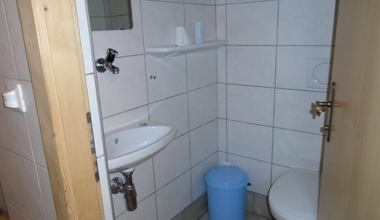 Waschbereich (© TVB Almtal, AH)