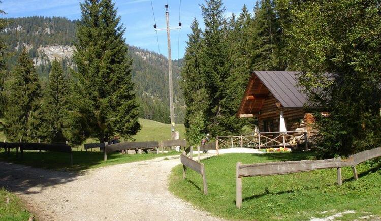 Die Singerhauser Hütte (© Mediasoft)