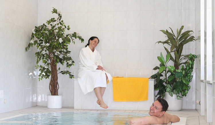 Relax after a busy day in the hotel's spa and wellness area