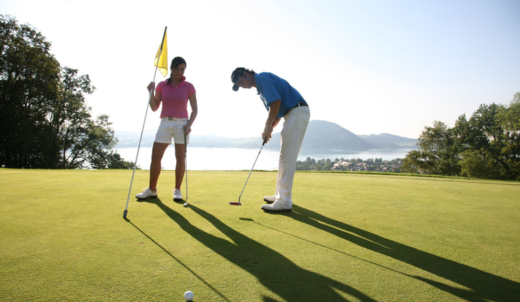 Nati und Alex (© Attersee Golfclub Weyregg)
