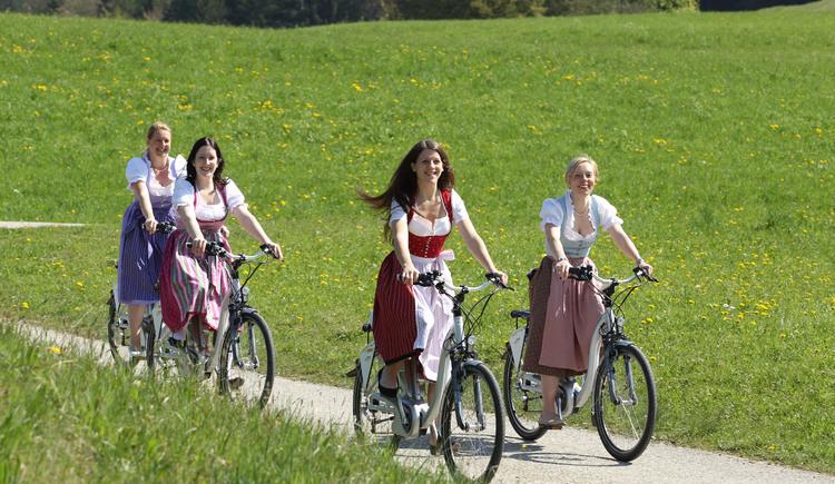 e-bike Tour.jpg (© Tourismusverband Fuschl am See)