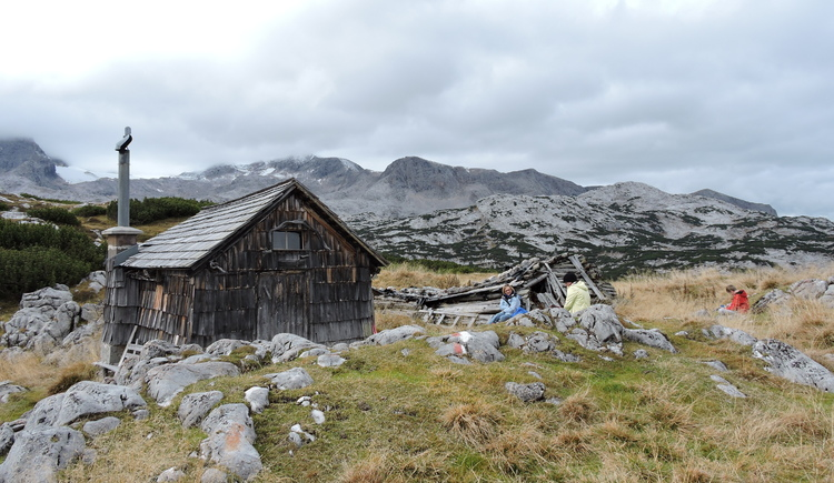 past historic alpine pastures