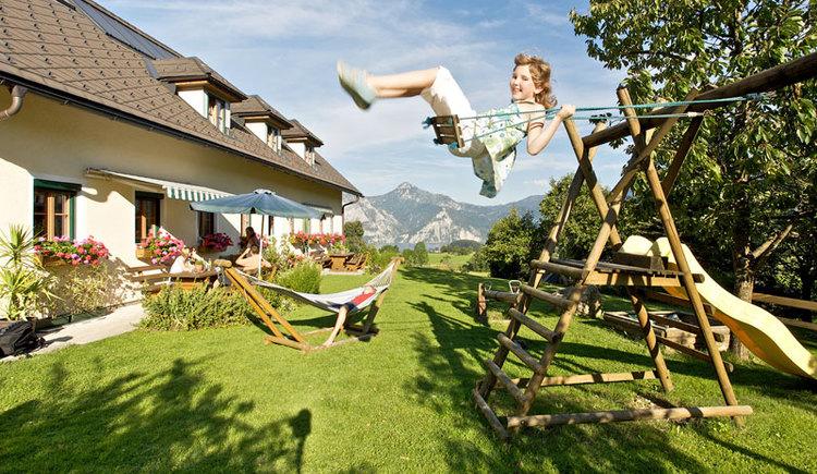 Viele Bauernhöft in Altmünster am Traunsee im Salzkammergut bieten einen erholsamen Urlaub. (© MTV Ferienregion Traunsee - Tourismusbüro Altmünster)