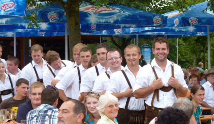 Tänzer, Naarner Schuahplattler. (© Gerhard Ebner)