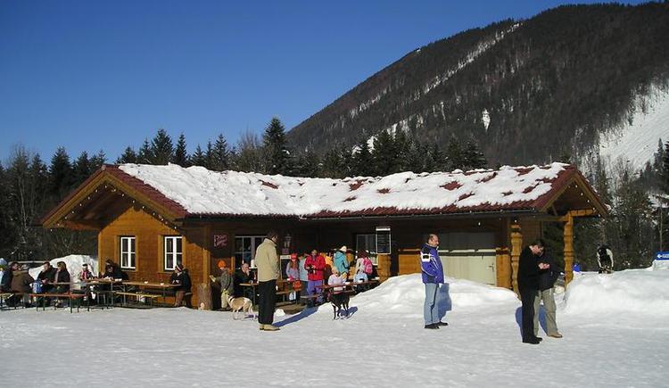 Snowtubing-Hut in Faistenau (© Snowtubing Faistenau)