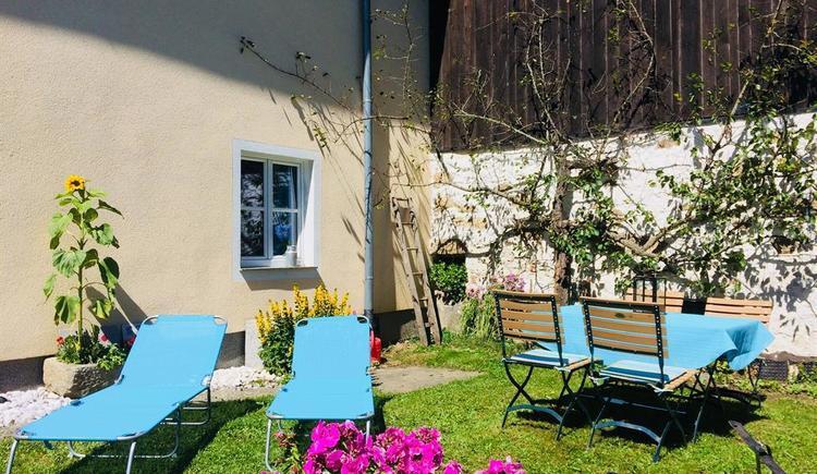 Garten im Sommer (© Privat)