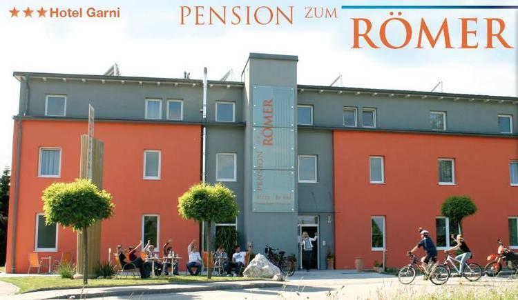 Pension zum Römer, Außenansicht. (© Egger)