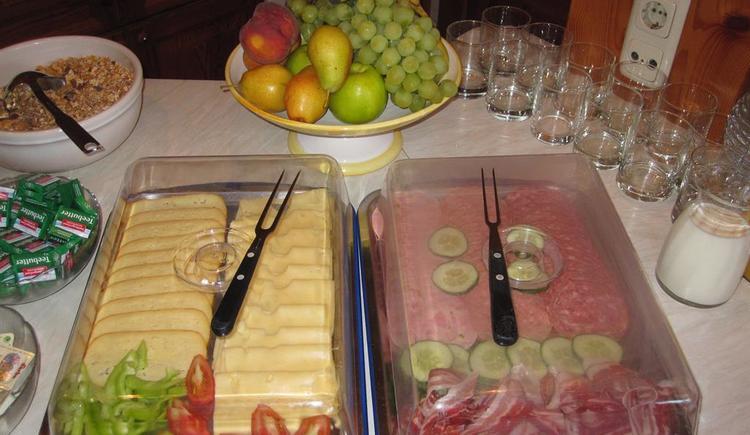 Frühstücksbuffet (© Pension Tannhof)