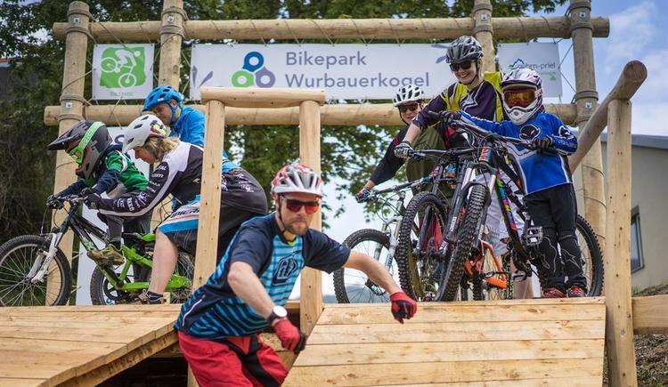 Start Bikepark Wurbauerkogel (© Michael Steiner)